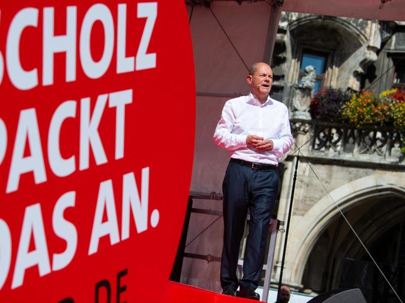 Scholz will Spitzensteuersatz auf 45 Prozent erhöhen