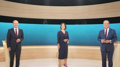 Endspurt im Wahlkampf: Drittes TV-Triell und zwei Parteitage