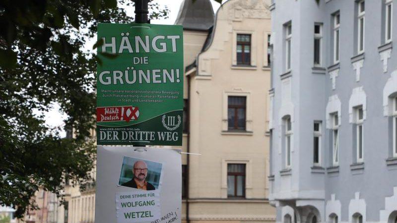 """Gerichtsbeschluss: Plakate """"Hängt die Grünen"""" einstweilig verboten"""