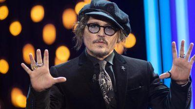 """Johnny Depp kritisiert Cancel Culture  – """"Ich kann Ihnen versichern, niemand ist sicher"""""""