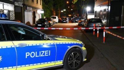 Sechs Verletzte nach Schießerei in Mannheim
