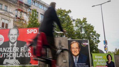Bundestagswahl beginnt – hoher Anteil unentschlossener Wähler