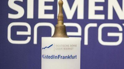 Siemens Energy: Ein stürmisches erstes Jahr an der Börse