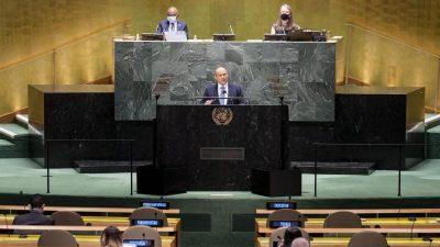 UN-Generaldebatte endet ohne Beitrag von Afghanistan und Myanmar