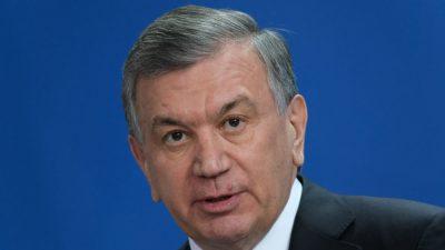 Usbekistans Präsident gewinnt Wiederwahl wie erwartet deutlich