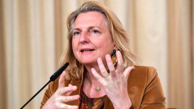 Ex-Außenministerin verlässt Österreich – und wirft Medien Mafia-Methoden vor