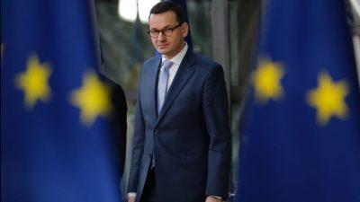 """Polen wirft EU """"Erpressung"""" in Streit um Rechtsstaatlichkeit vor"""
