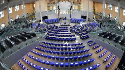 Am Dienstag wird es ernst mit dem neuen Bundestag