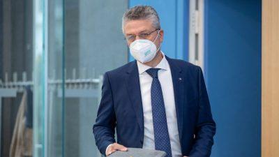 """RKI-Chef Wieler: """"Die Morddrohungen nehmen massiv zu"""""""