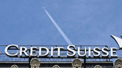 Credit Suisse zahlt wegen Korruptionsskandals 475 Millionen Dollar