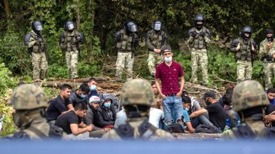 """Polizeigewerkschaft warnt vor """"Kollaps"""" an der Grenze"""