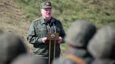 """Frankreich wirft Lukaschenko-Familie organisierten """"Menschenhandel"""" vor"""