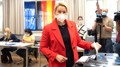 Die Zeichen stehen auf Rot-Rot-Grün – CDU und FDP werfen Giffey Wortbruch vor