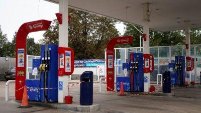 Kraftstoffversorgung an britischen Tankstellen wieder normal