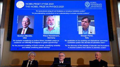 Deutscher Klimaforscher erhält Physik-Nobelpreis