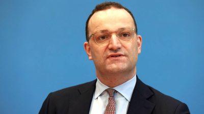 """Spahn beklagt """"Klima des Misstrauens"""" in der CDU"""