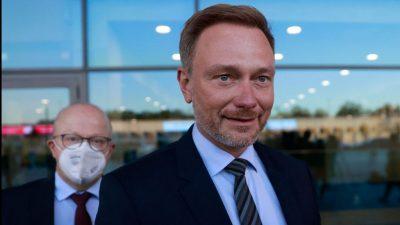 Lindner: FDP sieht in Ampel-Koalition Chancen und Herausforderungen