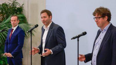 SPD, Grüne und FDP starten Koalitionsverhandlungen