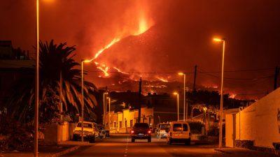 Vulkanausbruch auf La Palma legt Flugverkehr weiter lahm