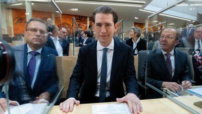 Österreichische Justiz beantragt Aufhebung der Immunität von Kurz