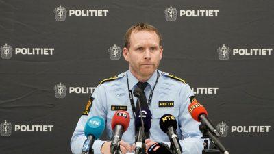 """Norwegen: Attentäter erstach seine Opfer mit """"scharfem Gegenstand"""""""