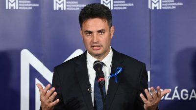 Marki-Zay tritt als gemeinsamer Kandidat der Opposition gegen Orban an