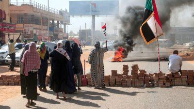 Militär erklärt Übergangsregierung im Sudan für abgesetzt