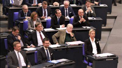 Magwas gegen Änderung der Sitzordnung im Bundestag