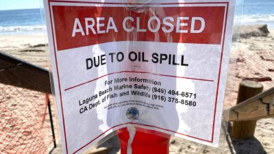 Ölpipeline vor Kaliforniens Küste womöglich durch Anker beschädigt