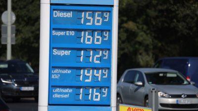 Dieselpreis steigt in Deutschland auf Rekordhoch