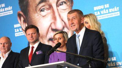 Niederlage bei Parlamentswahl: Babis verkündet Wechsel in die Opposition