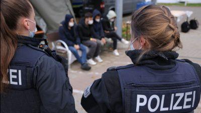 Deutschland: Mehr als 4.200 illegale Einreisen aus Belarus
