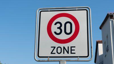 EU-Parlament fordert Null Promille am Steuer und mehr Tempo-30-Zonen