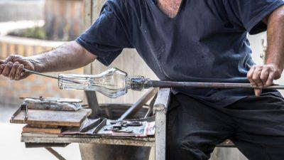 Hohe Gaspreise gefährden traditionelle Glasindustrie