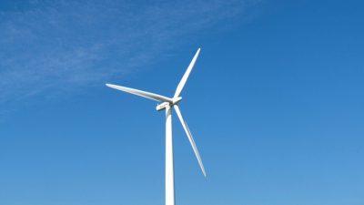 Windkraft-Anlagen im ersten Halbjahr zu 21 Prozent ausgelastet