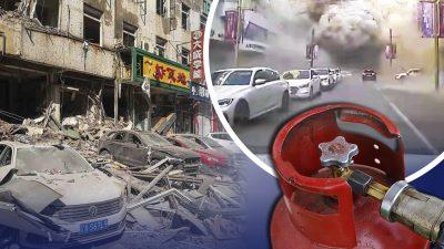 Gasexplosion erschüttert chinesische Metropole