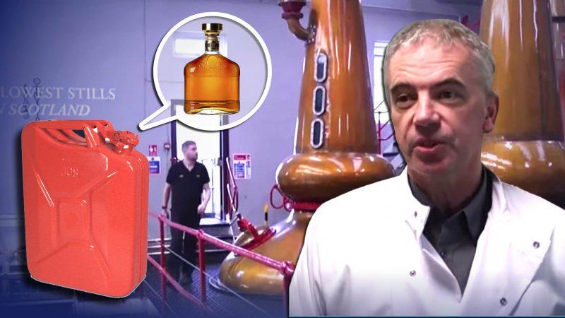 Schottischer Professor wandelt Whisky-Abfälle in Benzin um