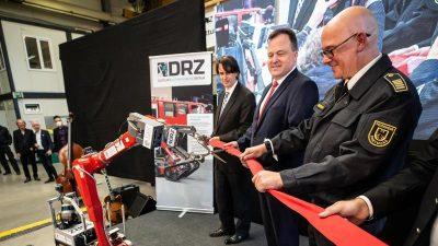 Zentrales Testlabor für Rettungsroboter eröffnet