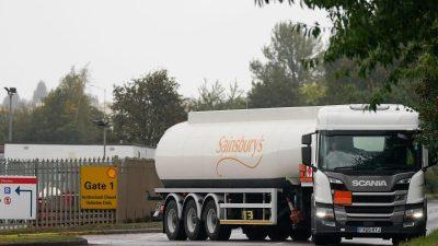 In Großbritannien lebende Deutsche sollen Lastwagen fahren