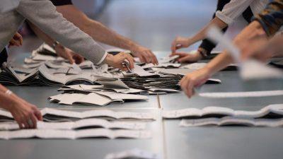 Sondersitzung über Wahlergebnis zum Berliner Abgeordnetenhaus