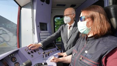 Premiere in Hamburg: Erste digitale S-Bahn gestartet