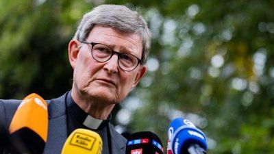 Steuerzahlerbund kritisiert 13.800 Euro-Gehalt für Woelki in Auszeit