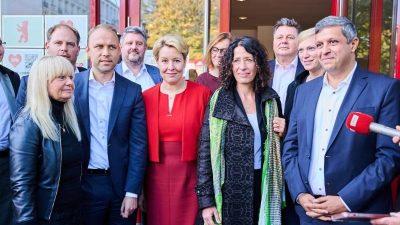 Berliner Linke macht Weg für Koalitionsverhandlungen frei