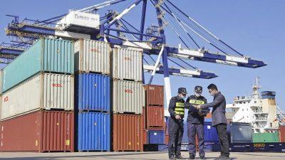 Chinas Exporte stark – weniger Import aus Deutschland