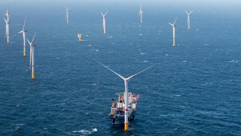 Amt erteilt Baugenehmigung für großen Windpark in Nordsee