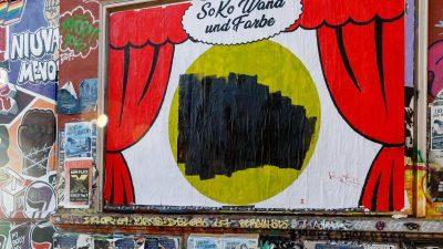 """""""Pimmelgate""""-Affäre um Grote – Großplakat an Roter Flora"""